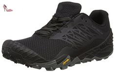 promo code e311d e0a9d Merrell ALL OUT TERRA LIGHT, chaussures de course trail homme, Noir, 42 -