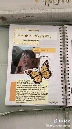 Harry Potter Gif, Harry Potter Diary, Harry Potter Notebook, Harry Potter Planner, Harry Potter Scrapbook, Harry Potter Journal, Deco Harry Potter, Harry Potter Room, Harry Potter Pictures