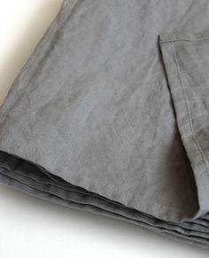 Lavato Linen Grey Throw