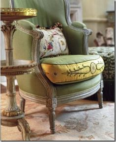 FABULOUS chair..... Charlotte Moss