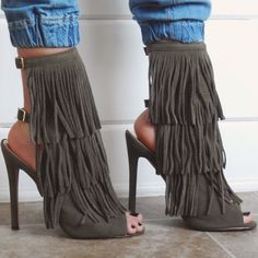 Fringe Frenzy Booties