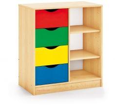 Mueble almacenaje multiactividades y estanteria