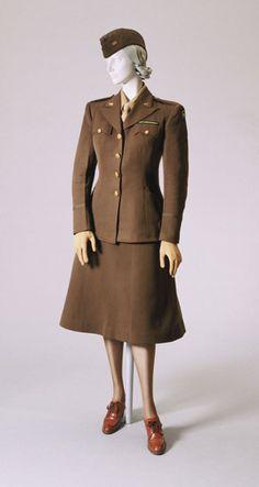 Woman's War Correspondent Uniform, US, 1945.