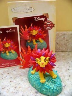2005 Hallmark Lion King Disney Mighty Simba Christmas Ornament