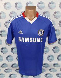 690cbb6f457 CHELSEA 2009 2010 2011 HOME FOOTBALL SOCCER SHIRT JERSEY TRIKOT MAGLIA  ADIDAS S #adidas #Chelsea