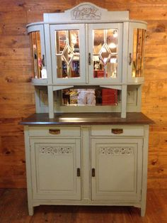 Antique Furniture: 1930's Beveled Mirror by RusticRedeauxTx