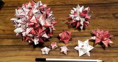 Make Christmas stars – creative decoration for the most beautiful party - New Decoration ideas Flower Birthday Cards, Birthday Card Design, Christmas Ornament Crafts, Christmas Decorations To Make, Origami For Dummies, Colorful Feathers, Quilling Designs, Paper Quilling, Creative Decor