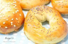 Hacer bagels con nuestra Thermomix es más sencillo de lo que parece Pan Dulce, Pan Bread, Love Eat, Bagels, Bread Recipes, Muffin, Yummy Food, Cooking, Breads