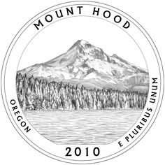 #tattoo I need a tattoo of a quarter to commemorate my dad, and why not do the Mount Hood quarter? Either that or do the back of the quarter with the eagle.