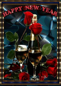 Happy Birthday Emoji, Birthday Wishes, Happy New Year Images, Tulips Garden, Happy Friendship Day, Nouvel An, Birthday Photos, Beautiful Roses, Fireworks
