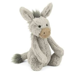 Actually a cute donkey item! Perfect for a DC baby, Bashful Donkey by Jelly Cat, $18 at Dawn Price Baby