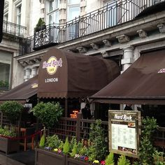 Hard Rock Cafe London. I've eaten there 3 times and still find new memorabilia on the walls.