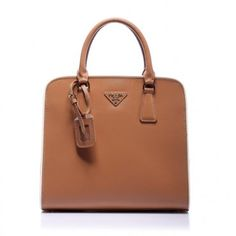 €172.00 Shop Prada Top Handles Shallow Apricot Online Uk