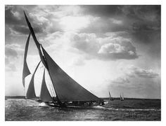 Sailing Yacht Mohawk, 1895 Kunst bei AllPosters.de