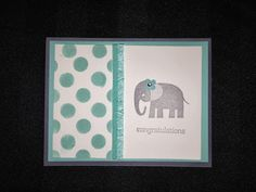 Genevieve's Blog.  I made this card at Gen's