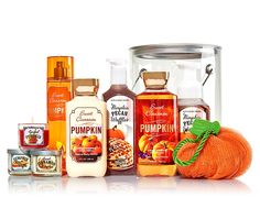 Grab the We Heart Pumpkin Pail from Bath & Body Works