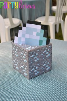 "Kiddo has an idea for a Scavenger hunt finding ""diamonds"""