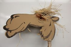 "CAMEL head for ""hobby horse"" camel for our Christmas show"