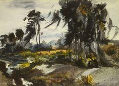 Andrew Wyeth in Florida - 1939 (by nkimadams)