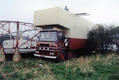 Photo by roadrangertrev Fun Fair, Big Wheel, Commercial Vehicle, Classic Trucks, Old Trucks, Photographs, Wheels, British, Europe