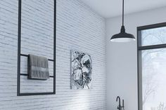The DCS hanging heated towel rail is low voltage AUS