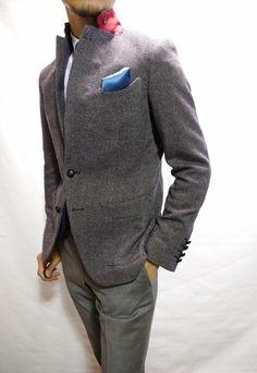 渋谷でスーツならavance青山店のブログ-パッチポケットジャケット