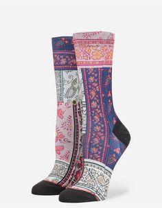 Stance NEW Women/'s Daisy Chain Socks Grey Heather BNWT