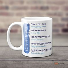 There is nothing like a good dad joke to make your Father's Day, and our Guide To Dad Noises funny mug is the perfect gift that will surely make your dad's day. Fathers have a way of making everything around us fun. #fathersdaygifts #giftsfordad #funnygiftsfordad #dadgifts #dadnoise #funnymug Dad Humor, Dad Jokes, Personalized Gifts For Dad, Funny Gifts For Dad, Custom Canvas Prints, Dad Birthday, Funny Mugs, Best Dad, You Are The Father