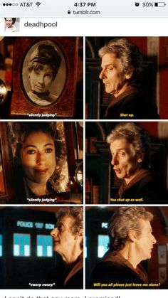 The Doctor and his girls