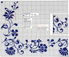Famiglia e Arte: la grafica 123 Cross Stitch, Cross Stitch Borders, Cross Stitch Designs, Cross Stitch Patterns, Bordado Popular, Filet Crochet Charts, Palestinian Embroidery, Flower Tea, Needlepoint