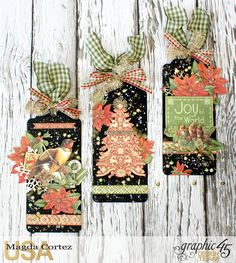 Joy Set of Tags, Winter Wonderland, By Magda Cortez, Product by Graphic 45, Photo 01 of 09.jpg
