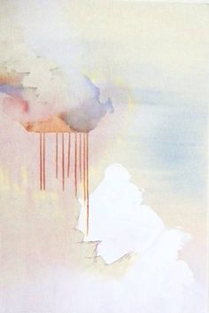"Saatchi Art Artist tarini ahuja; Painting, ""untitled (metal clouds-1)"" #art"