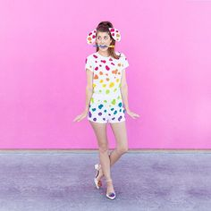 Pin for Later: 48 Stylish DIY Costumes That Are Just Too Easy Lisa Frank