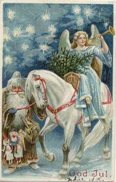 L. - Cartes postales anciennes: Noël