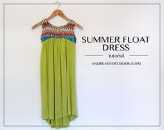 Summer Float Dress Tutorial