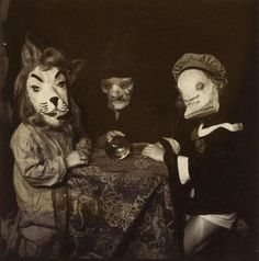 Scary Lion Man and Friends | Community Post: 36 Scary Halloween Costumes From Golden Age