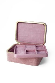 Shop the Beauvais Velvet Jewelry Box at Perigold, home to the design world's best furnishings for every style and space. Jewellery Boxes, Jewellery Storage, Jewelry Organization, Jewelry Box, Jewelry Accessories, Personalized Jewelry, Custom Jewelry, Vintage Jewelry, Jewelry Holder Stand