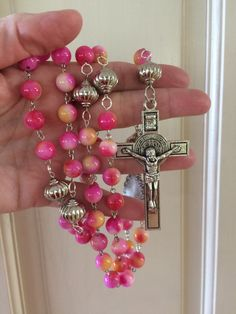 A personal favorite from my Etsy shop https://www.etsy.com/listing/452981480/large-pinky-peach-jade-rosary