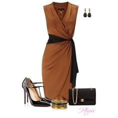 A fashion look from March 2013 featuring black patent shoes, handbags shoulder bags and studded jewelry. Browse and shop related looks.