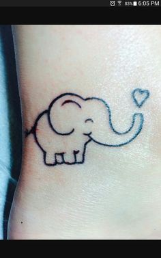 My sister had a henna tattoo party me and my best friend did the same tattoo ❤ are favorite animal is an elephant