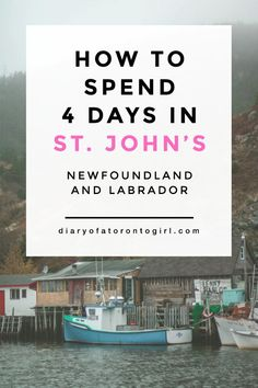 Newfoundland is full of incredible landscapes and views. Here's a look at my Newfoundland road trip itinerary, all about how to spend 4 days in St. Toronto, Travel Guides, Travel Tips, Travel Destinations, Solo Travel, Budget Travel, Vancouver, Atlantic Canada, Newfoundland And Labrador