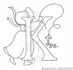 alphabet Sunbonnet sue