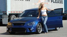 beautiful cars and women's