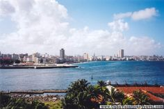 In the other side of the bay, Historical places. Havana