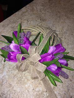 My handmade Flower Home Decoration Door Tulips Levander Purple Handmade Flowers, Tulips, Purple, Decoration, Jewelry, Home Decor, Decor, Jewlery, Decoration Home