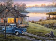 Darrell Bush ™ Art Jigsaw Puzzles|Early to Rise Jigsaw Puzzle by Buffalo Games - MainePuzzles.com