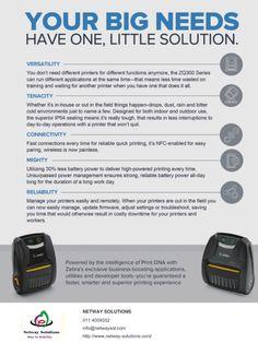 Retail Technology, Zebra Printer, Fast Print, Tough As Nails, Can Run, Future Tech, Working Hard, Zebras, Tech News