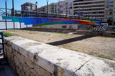 Felipe Pantone  Proyecto MAUS/ Soho Málaga. #StreetArt #ArteUrbano #Art #Arte #Arterecord 2015 https://twitter.com/arterecord