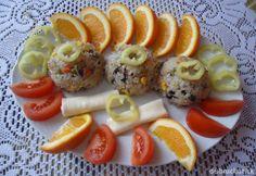 Fotorecept: Rizoto s hubami a zeleninou