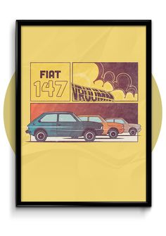 FIAT Fashion no Salão do Automóvel on Behance #estamparia #fiat147